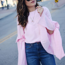 STYLING A BELL SLEEVE TOP
