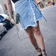 IDEAS ON HOW TO STYLE DENIM SKIRTS