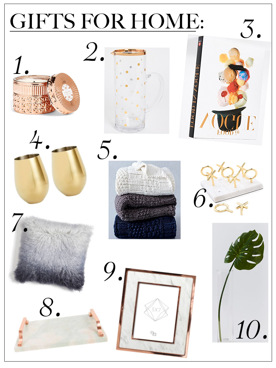 Holiday Gift Guide Home Decor Chic Talk Chic Talk